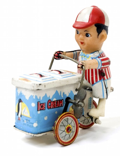 Mobile Ice Cream Vendor